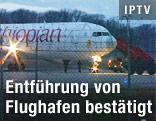 Entführtes Flugzeug