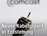 Kabel und Comcast-Logo