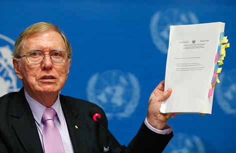 Michael Kirby, Leiter der UNO-Kommission