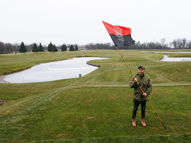 Golfplatz des ukrainischen Präsidenten Viktor Janukowitsch