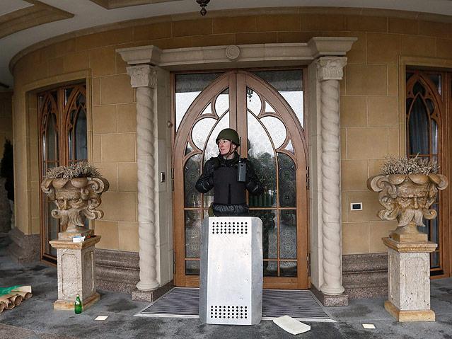 Villa des ukrainischen Präsidenten Viktor Janukowitsch