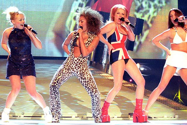 Spice Girls Auftritt bei den Brit Awards in 1997