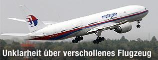 Boeing 777 der Air Malaysia