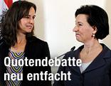 Familienministerin Sophie Karmasin und Kulturministerin Gabriele Heinisch-Hosek