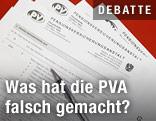PVA-Formulare