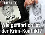 Vladimir Putin und Josef Stalin