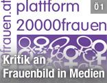Logo der Plattform 20000frauen