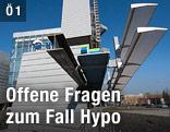 Außenansicht der Hypo-Zentrale in Klagenfurt