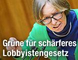 Die Grüne-Abgeordnete Gabriela Moser