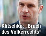 Ukrainischer Oppositionspolitiker Vitali Klitschko