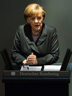 Deutsche Kanzlerin Angela Merkel