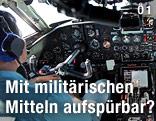 Cockpit eines vietnamesischen Militärflugzeugs