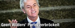 Geert Wilders (Vorsitzender der Partei Partij voor de Vrijheid)