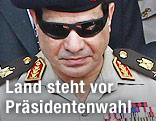 Ägyptens Militärchef Abdel Fattah al-Sisi