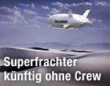 Airlander Roboter-Luftschiff