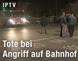 Einsatzwagen am Tatort