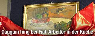 """Gemälde """"Früchte auf Tisch"""" von Gauguin"""
