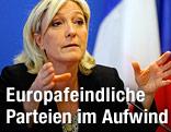 FN-Parteichefin Marine Le Pen