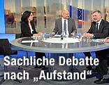 TV-Runde zur EU-Wahl mit leerem Sessel