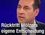 FPÖ-Parteichef Heinz-Christian Strache im ZIB2-Studio