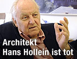 Architekt Hans Hollein