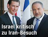 Sebastian Kurz und Avigdor Lieberman