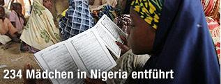 Schülerinnen in Nigeria