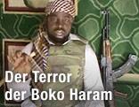 "Abubakar Shekau, Anführer der Sekte ""Boko Haram"""