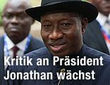 Goodluck Ebele Jonathan, Präsident von Nigeria