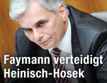 Bundeskanzler Faymann (SPÖ)