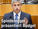 Finanzminister und Vizekanzler Michael Spindelegger (ÖVP)