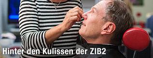 Moderator Armin Wolf im ZIB2-Studio