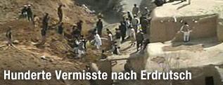 Schlammlawine in Afghanistan