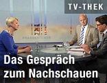NEOS-Spitzenkandidatin Angelika Mlinar in der ORF-Pressestunde