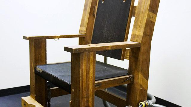 elektrischer stuhl statt giftspritze news. Black Bedroom Furniture Sets. Home Design Ideas