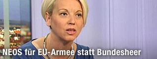 NEOS-Spitzenkandidatin Angelika Mlinar