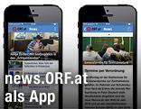 ORF-App auf einem iPhone
