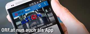 ORF-App am Handy