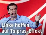 Griechischer Oppositionschef Alexis Tsipras