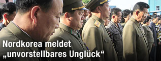 Regierungsvertreter in Pjöngjang