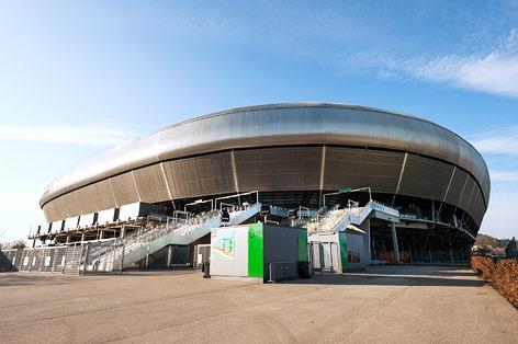 Wörthersee Stadion in Klagenfurt