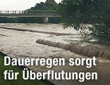 Hochwasser in Sankt Pölten