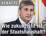 Finanzminister Michael Spindelegger