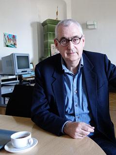 Direktor des NAtionalparks Donauauen Carl Manzano
