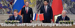 Russlands Präsident Wladimir Putin und sein chinesischer Amtskollege Xi Jinping