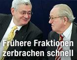 Bruno Gollnisch und Front-National-Gründer Jean-Marie Le Pen