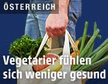 Einkaufstasche voll Gemüse