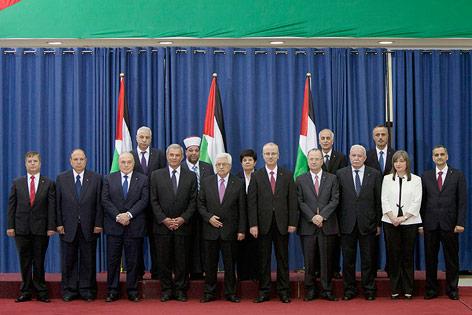 Die neue palästinensische Regierung