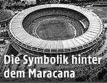 Maracana-Stadion in Rio de Janeiro, 1965