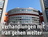 UNO-City in Wien mit dem Sitz der internationalen Atomenergie Behörde (IAEA)
